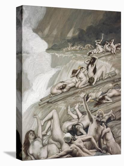 The Deluge-James Tissot-Stretched Canvas Print