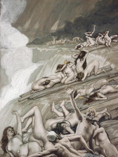 The Deluge-James Tissot-Giclee Print