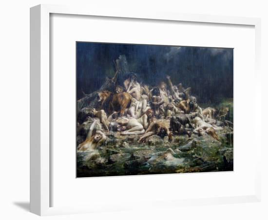 The Deluge-Léon-François Comerre-Framed Giclee Print