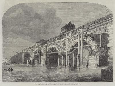 The Demolition of Old Westminster-Bridge--Giclee Print