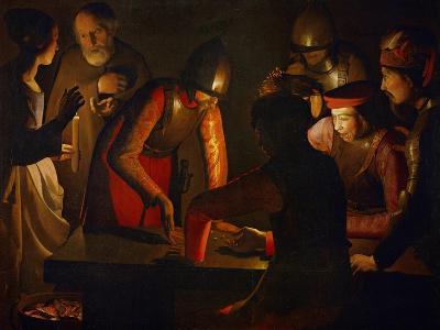 The Denial of Saint Peter, 1650-Georges de La Tour-Giclee Print