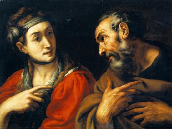 The Denial of Saint Peter-Daniele Crespi-Giclee Print