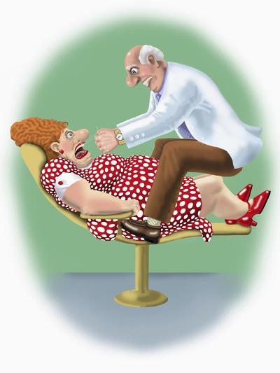 The Dentist-Linda Braucht-Giclee Print