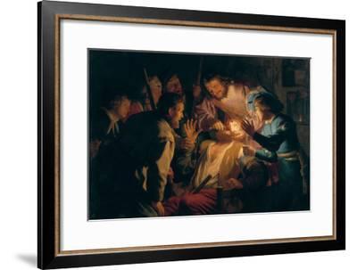 The Dentist-Gerrit van Honthorst-Framed Giclee Print