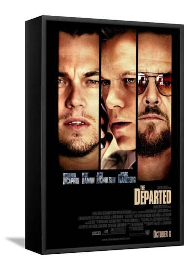The Departed--Framed Canvas Print