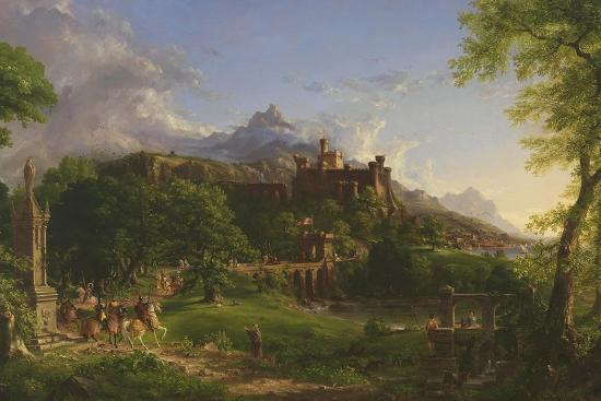 The Departure, 1837-Thomas Cole-Giclee Print