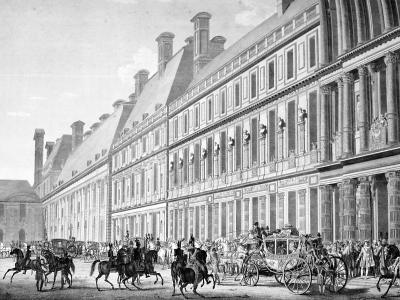 The Departure from Tuileries Palace, 2nd December 1804, 19th Century--Giclee Print