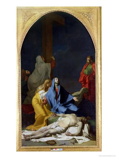 The Deposition, 1789-Jean-Baptiste Regnault-Giclee Print