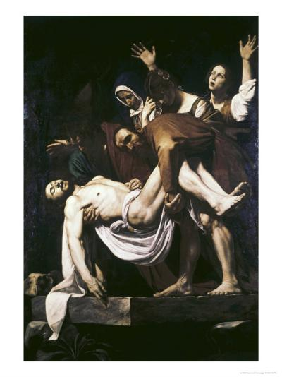 The Deposition-Caravaggio-Giclee Print