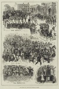 The Derby Day, from the Langham to Epsom