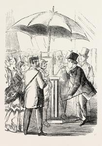 The Derby Day: Scenes by the Roadside and on the Downs: Try Your Lungs, Gentlemen! Uk, 1860