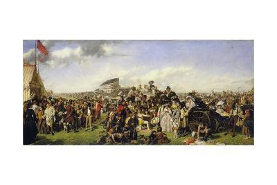The Derby Day-William Powell Frith-Giclee Print