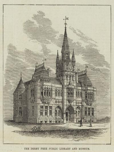 The Derby Free Public Library and Museum--Giclee Print