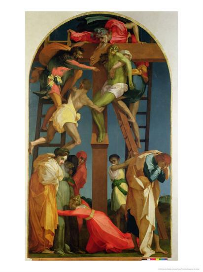 the descent from the cross 1521 giclee print by rosso fiorentino