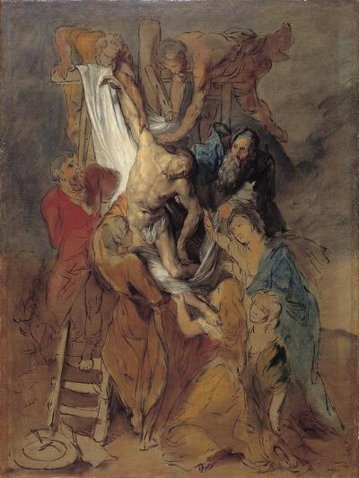 The Descent from the Cross after Rubens, Late 1760S-Thomas Gainsborough-Giclee Print
