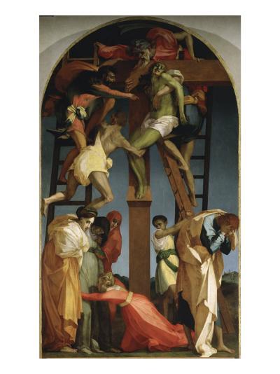 The Descent from the Cross-Rosso Fiorentino (Battista di Jacopo)-Giclee Print