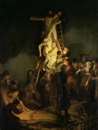 The Descent from the Cross-Rembrandt van Rijn-Giclee Print