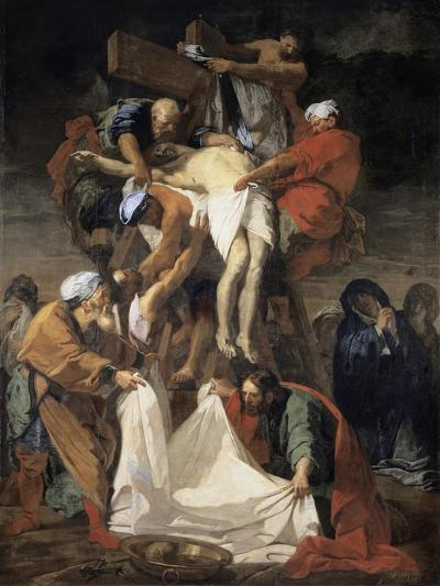 The Descent from the Cross-Jean-Baptiste Jouvenet-Giclee Print