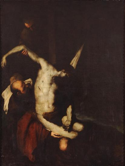 the descent from the cross giclee print by luca giordano art com