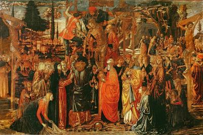 The Descent from the Cross-Benozzo di Lese di Sandro Gozzoli-Giclee Print