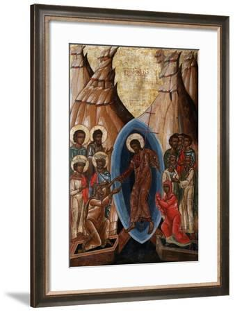 The Descent into Hell, Early16th C--Framed Giclee Print