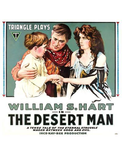 The Desert Man - 1917--Giclee Print