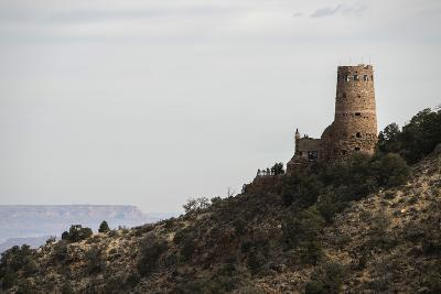 The Desert View Watchtower, Historic Architecture by Mary Jane Colter, Built in the 1930'S-Bill Hatcher-Photographic Print