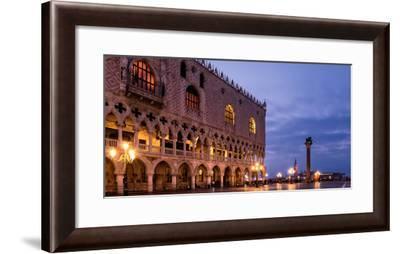 The Deserted St. Mark's Square in the Early Morning, Venice, UNESCO World Heritage Site-Karen Deakin-Framed Photographic Print
