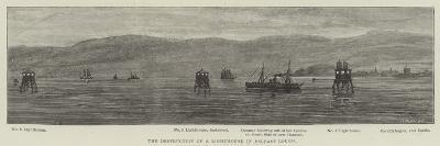 The Destruction of a Lighthouse in Belfast Lough--Giclee Print