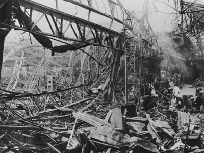 The Destruction of Renault's Billancourt Factory, Paris, France, WWII, C1939-C1945