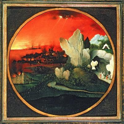 The Destruction of Sodom and Gomorrah, 16th Century-Joachim Patenir-Giclee Print