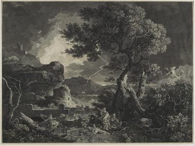 The Destruction of the Children of Niobe, 1761-William Woollett-Giclee Print