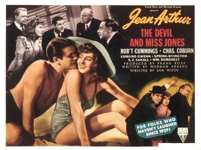 The Devil And Miss Jones, Robert Cummings, Jean Arthur, 1941--Photo