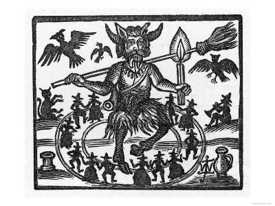The Devil Dominates the Sabbat--Giclee Print