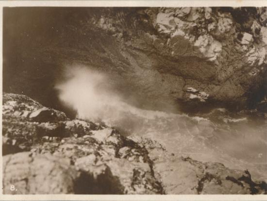 'The Devil's Bellows, Kynance Cove', 1927-Unknown-Photographic Print