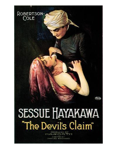 The Devil's Claim - 1920--Giclee Print