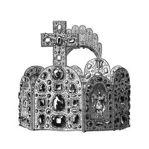 The Diadem of Charlemagne, C8th Century