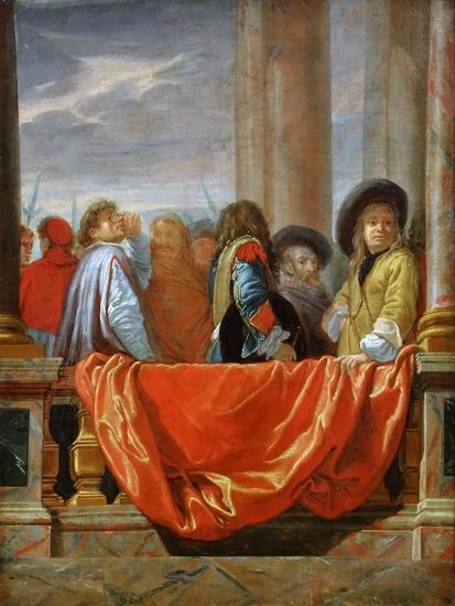 The Different Nations of Europe-Charles Le Brun-Giclee Print