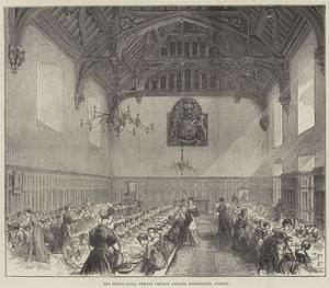 The Dining-Hall, Female Orphan Asylum, Beddington, Surrey