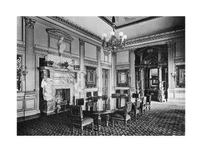 The Dining Room, Dorchester House, 1908--Giclee Print