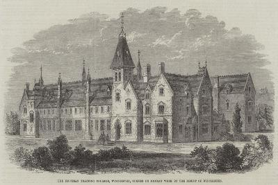 The Diocesan Training College, Winchester, Opened on Monday Week by the Bishop of Winchester--Giclee Print