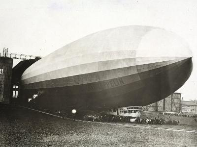 The Dirigible 'Count Zeppelin'--Photographic Print