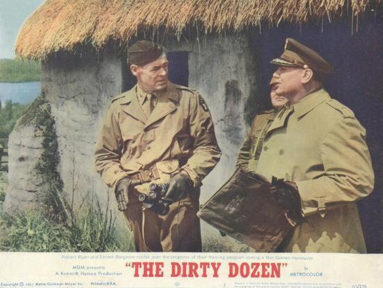 The Dirty Dozen, 1967--Art Print