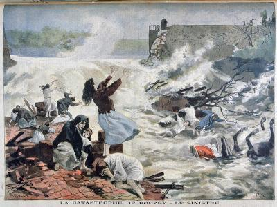 The Disaster at Bouzey, 1895-F Meaulle-Giclee Print