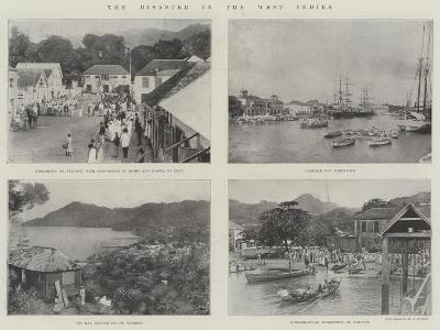 The Disaster in the West Indies--Giclee Print