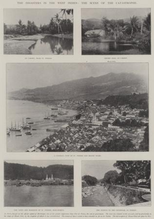 The Disasters in the West Indies, the Scene of the Catastrophe
