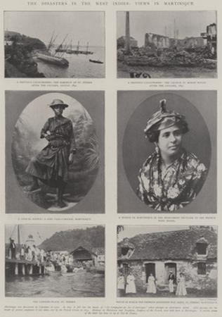 The Disasters in the West Indies, Views in Martinique