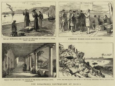 The Disastrous Earthquake at Ischia--Giclee Print