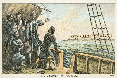 The Discovery of America--Giclee Print