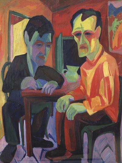 The Discussion, Circa 1925-Edgar Degas-Giclee Print